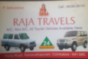 Raja travels