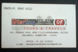 sterling tours &t travels