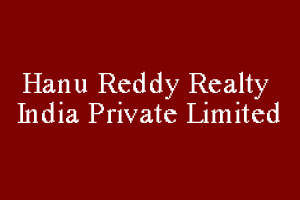 Hanu Reddy Realty India Private Limited