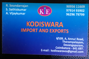 Kodiswara Import and Exports