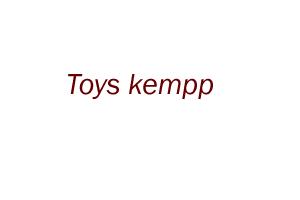 Toys kempp