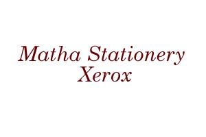Matha Stationery & Xerox