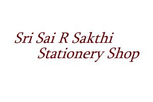 Sri Sai R Sakthi Stationery Shop