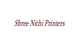 Shree Nithi Printers
