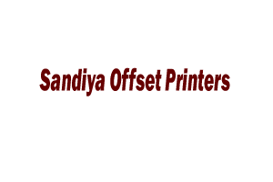 Sandiya Offset Printers