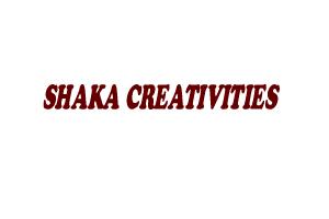 SHAKA CREATIVITIES