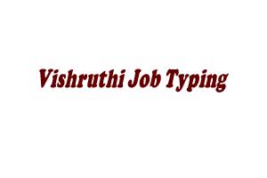 Vishruthi Job Typing