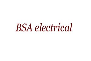 BSA electrical