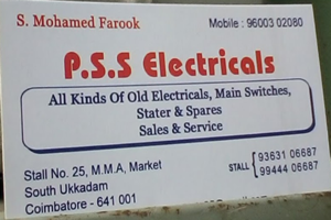 P.S.S.Electricals
