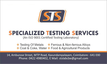 Specialized Testing Services lab