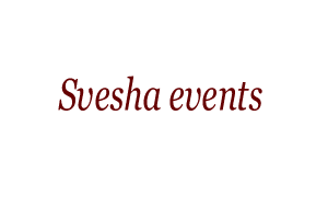 Svesha events