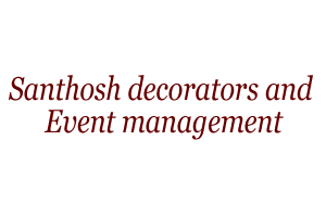 santhosh decorators and event management