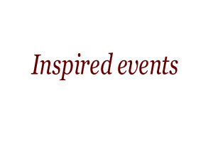 Inspired events