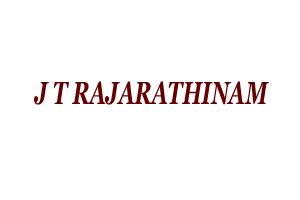 J T RAJARATHINAM