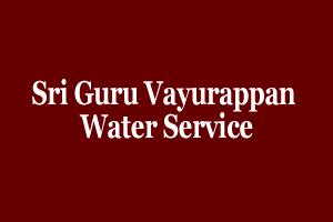 Sri Guru Vayurappan Water Service