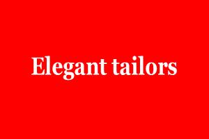 Elegant tailors