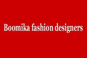 Boomika fashion designers