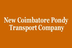 New Coimbatore Pondy Transport Company
