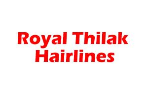 Royal Thilak Hairlines