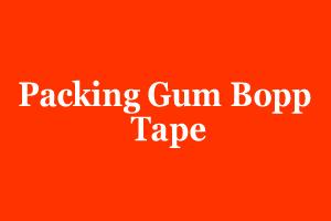 Packing Gum Bopp Tape