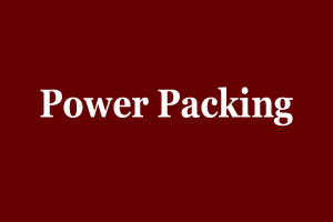 Power Packing