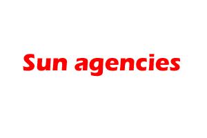 Sun agencies