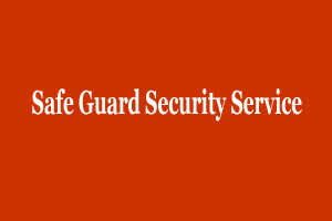 Safe Guard Security Service